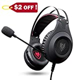 Gaming Headset, NUBWO 3.5mm Surround Stereo Wired Gaming Headphones with Microphone and Volume