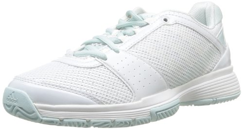 Tennisschuhe F32355 White Aqua Fresh Damen Running Ftw smc White Weiß adidas Running Performance Ftw Barricade Team 3 ZwC7YqHI