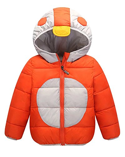 Ski Free Monster (Wxian Children's Hooded Monster Down Jacket)