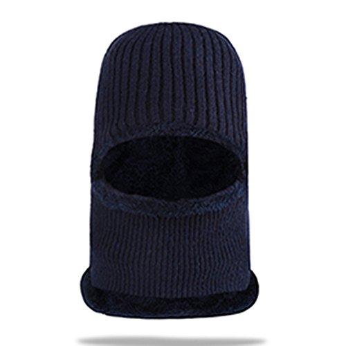 frío Navidad winter sombreros sombreros Halloween gris blue bufanda gorro Navy Señoras Winter auditivos viento bike hat tejidos beanie Men's caps engrosamiento protectores MASTER hat engrosamiento f5PwaqP