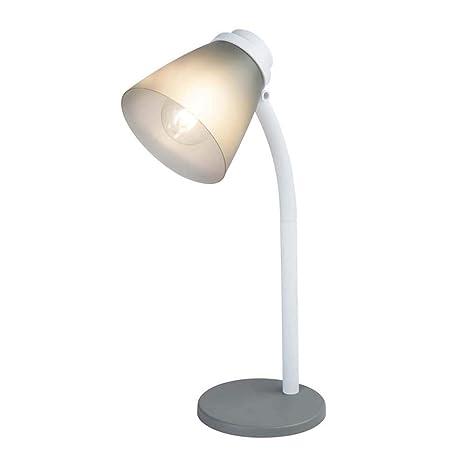 Lámpara de mesa con cable humo: 1,5 m.: Amazon.es: Iluminación