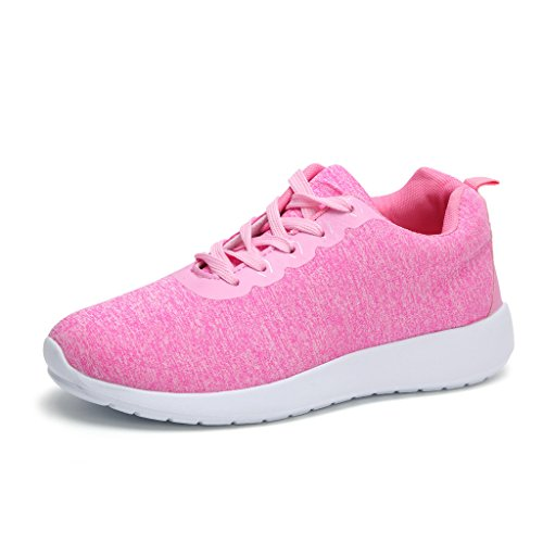Women's Sports Basketball Shoes (Pink)- - 4