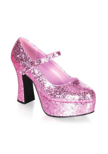 Funtasma by Pleaser Women's Maryjane-50G Pump,Baby Pink Glitter,14 M ()