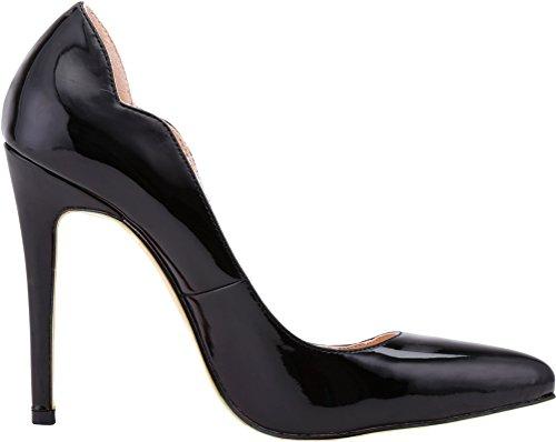 Noir Find 5 Noir Compensées 36 Sandales Femme Nice wHvqrWHOI