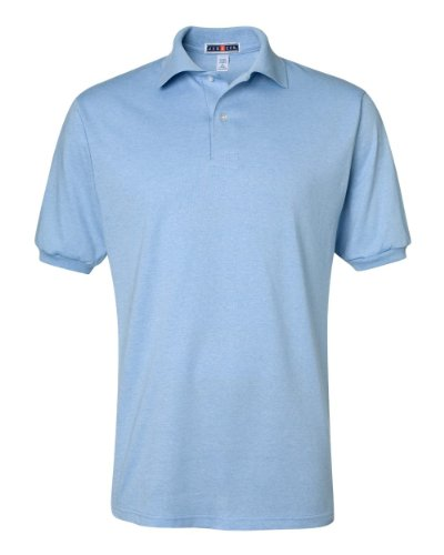 picture of Jerzees 437 50/50 Jersey Polo - Light Blue - L