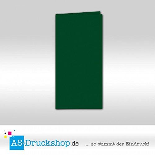 Faltkarte Doppelkarte - Racing Grün 100 Stück DIN Lang B0794ZLNDL | Elegante Und Stabile Verpackung