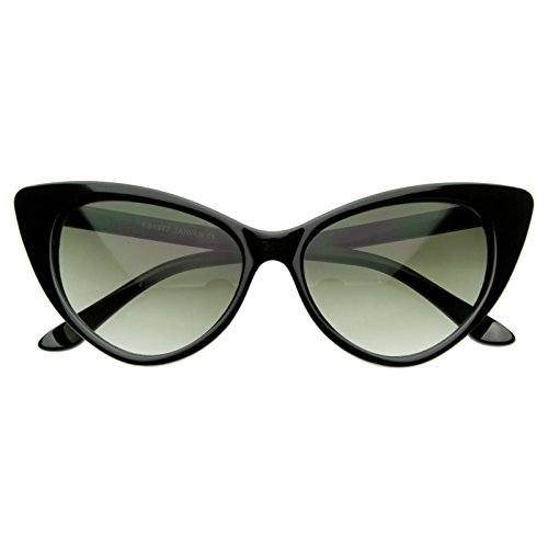 AStyles - Super Cateyes Vintage Inspired Fashion Mod Chic High Pointed Cat Eye Sunglasses Glasses - Cat Eyes Amazing