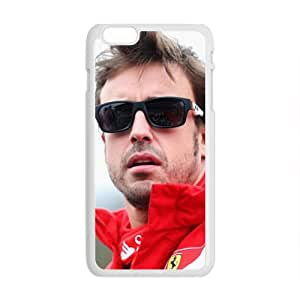 Fernando Alonso White Phone Case for Iphone6 plus