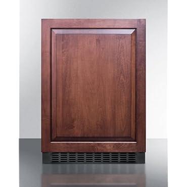 Summit SPR627OSIF Outdoor 24 All-Refrigerator for Built-In Use (Custom Panel Ready)