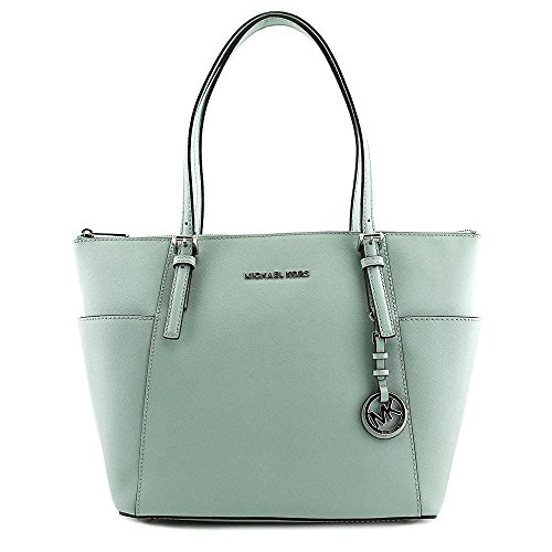 MICHAEL Michael Kors Jet Set East West Top Zip Tote (One Size, Celadon)