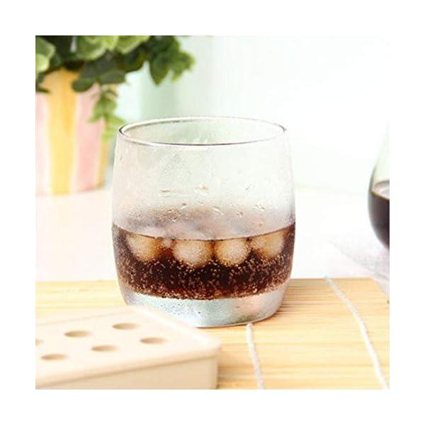 UMTGE - Vaschetta per cubetti di ghiaccio, in silicone e flessibile, 20 vassoi per ghiaccio, per bambini, con caramelle… 3 spesavip