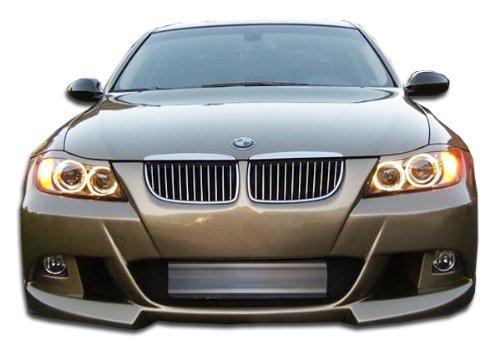 Bumper 4dr Fiberglass (2006-2008 BMW 3 Series E90 4DR Duraflex R-1 Front Bumper Cover - 1 Piece)