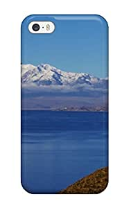 5/5s Scratch-proof Protection Case Cover For Iphone/ Hot Titicaca Lake Phone Case