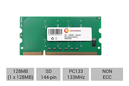 (128MB STICK SODIMM SD NON-ECC PC133 133 133MHz 133 MHz SDRam 128 128M Ram Memory by CENTERNEX )