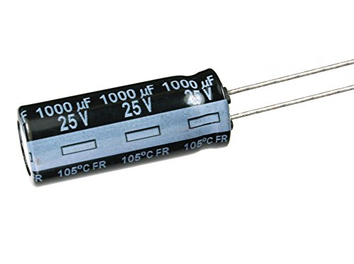 100Pcs  X  680uf 25VDC 105c 10x25mm  Low ESR Electrolytic Capacitor