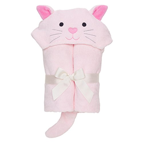 Hooded Towel Pink Kitty - 4