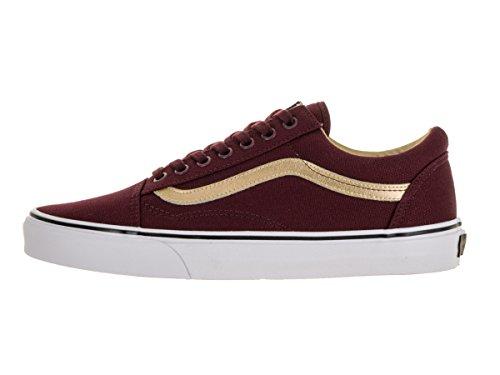 Royale Port Shoes Unisex Skate Gold Old Vans Classic Skool wxPfY0Y1q