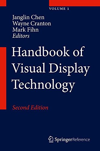 Handbook of Visual Display Technology ()