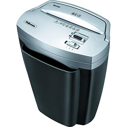 - Fellowes Powershred W11C, 11-Sheet Cross-cut Paper and Credit Card Shredder with Safety Lock (Renewed)