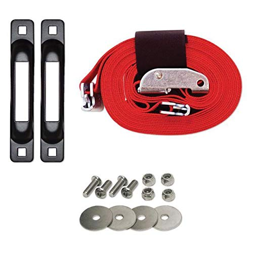 Snaplocs Tailgate Strap With Cam 2''X16' E-Strap System For Trucks And Trailers SLCETSC