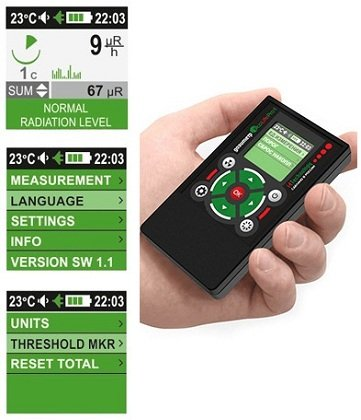 High Accuracy geiger Counter Radiation Detector dosimeter EcoLifePro 1 by i4 Technology (Image #7)