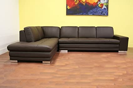 766 Sofa/lying M9805 Reverse Callidora Series Dark Brown Leather Leather