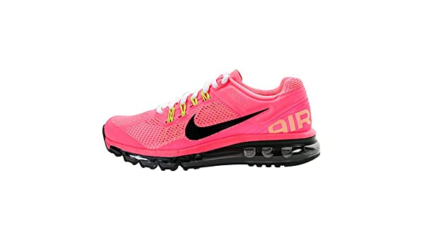 the best attitude 09b67 43fd5 Amazon.com   Nike Air Max 2013 GS Pink 555753-600 7Y Youth Sneakers    Running