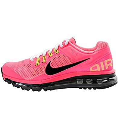 chaussures de sport bd0a7 21177 Amazon.com | Nike Air Max 2013 GS Pink 555753-600 7Y Youth ...