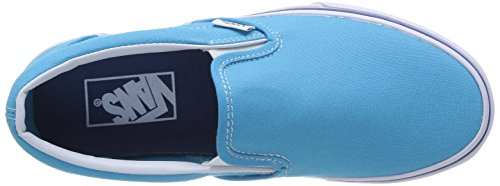 Furgoni U Classico Ca Bassa - Sneaker Unisex Türkis Erwachsene - Turchese (blu Ciano / True White)