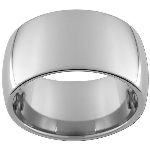 12mm Tungsten Carbide Dome Ring Size 8 - Tungsten Carbide Dome