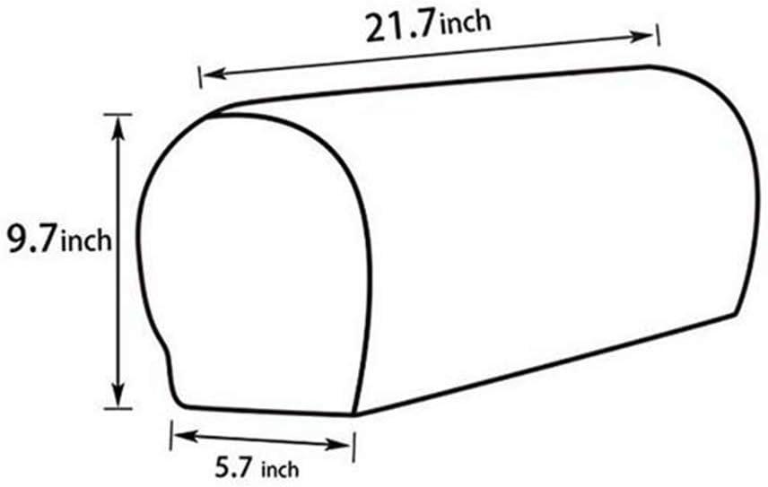 JLMMSS Lot de 2 Housses d/'accoudoir en /élasthanne Extensible imperm/éables pour canap/é Protection des accoudoirs canap/é antid/érapantes Fauteuil