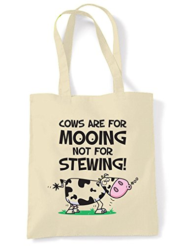Are Shopping Bag Cows Shoulder Vegetarian Tote For Mooing 5qpxxYOR