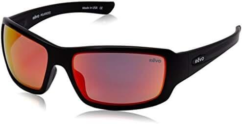 Revo Bearing RE 4057 Polarized Rectangular Sunglasses