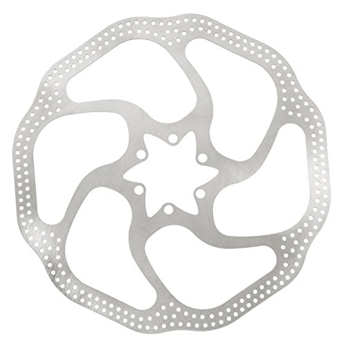 "SODIAL(R) Avid HS1 Heat Shedding Bike Cycle 6"" Disc Brake Rotor 160mm 6 Bolts T25 BB5/BB7"