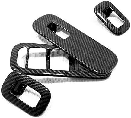 FFZ Parts Carbon Optik Fensterheber Rahmen Blende Abdeckung Passend F/ür A Klasse W177 V177 CLA W118 C118 X118