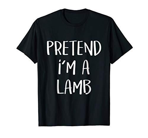 (Pretend I'm A Lamb Costume Funny Halloween Party)