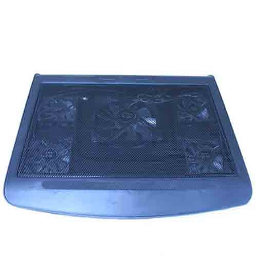 Chill Mat Cooling Stand - Blue LED 10-Inch to 17-Inch Laptop Notebook Cooling Cooler Stand Pad