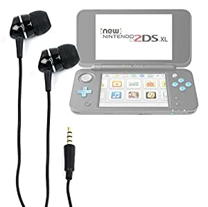DURAGADGET Premium Quality In-Ear Headphones with Deep Bass & Clear Highs for the Nintendo 2DS / Nintendo 3DS XL