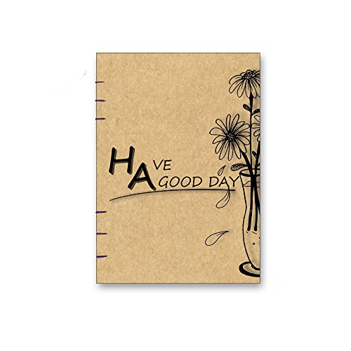 2017 gift christmas kraft hardcover Notebook, Sketchbook, Diary Handmade I Perfect Gift for Travel Journals, Sketching, Drawing,  More003