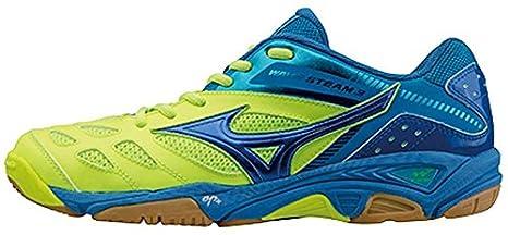 zapatillas de balonmano Mizuno Wave Steam 3, color azul, talla 40: Amazon.es: Deportes y aire libre