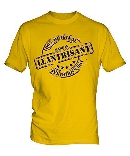 Hergestellt In Llantrisant - Herren T-Shirt T-shirt Top - Herren, Karamellbonbon, XXXXX-Large