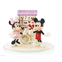 "Lenox Disney Sweet Treats with Mickey and Minnie Collectible Figurine - 12"" by Lenox"