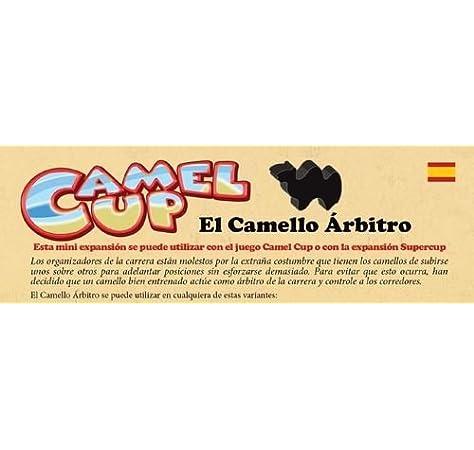 CAMEL UP - EL CAMELLO ÁRBITRO: Amazon.es: Juguetes y juegos