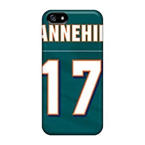 Forever Collectibles Miami Dolphins Hard Snap-on Iphone 5/5s Cases