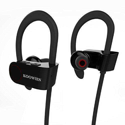 33 off bluetooth headphones koowien bluetooth 4 1 stereo wireless earphones sports earbuds. Black Bedroom Furniture Sets. Home Design Ideas