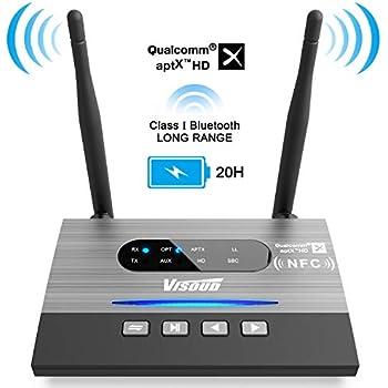 Amazon com: Miccus 160ft LONG RANGE Bluetooth Transmitter or