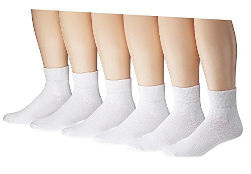 Box St4 (Men's Low Cut Sport Athletic Socks Cotton Blend Size 10-13 (12 Pair) Socks (ST4 White))