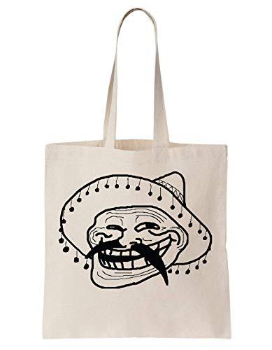 Mexico Tela Meme Krissy Mexican Face Bag Head Di Borsa xqEq0BgTw