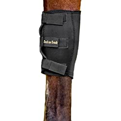 Back on Track 2-Piece 11.5 to 9.5-Inch Therapeutic Horse Knee Boots, Medium