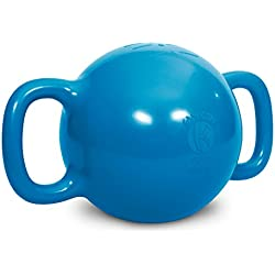 Kamagon Exercise Ball, Blue, 14-Inch with workout DVD